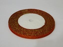 Металлизированная лента цв. красный 6 мм.