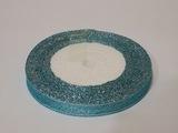 Металлизированная лента цв. голубой 10 мм.