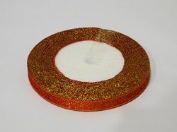 Металлизированная лента цв. красный 10 мм.