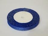 Металлизированная лента цв. синий 10 мм.