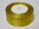 Металлизированная лента цв. золото 40 мм.(1м.)