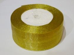 Металлизированная лента цв. золото 40 мм.