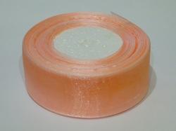 Лента из органзы цв. персиковый 40 мм.