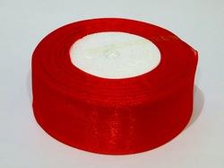 Лента из органзы цв. красный 40 мм.