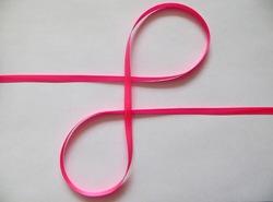 Репсовая лента цв. ярко-розовый 6 мм. (5 м.)