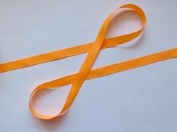 Репсовая лента цв. светло-оранжевый 12 мм.