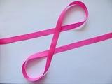 Репсовая лента цв. ярко-розовый 12 мм.