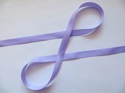 Репсовая лента цв. светло-фиолетовый 12 мм.