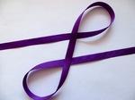Репсовая лента цв. фиолетовый 12 мм.