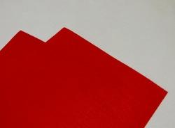Фетр средней жесткости цв. красный