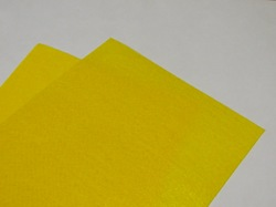Фетр средней жесткости цв. желтый