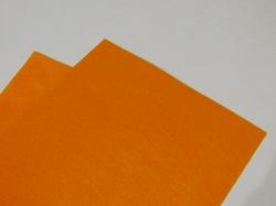Фетр средней жесткости цв. ярко-оранжевый