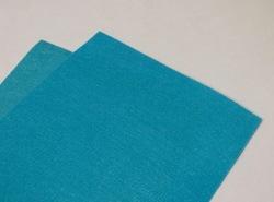 Фетр средней жесткости цв. голубой
