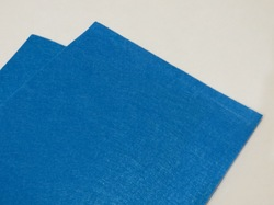 Фетр средней жесткости цв. светло-синий