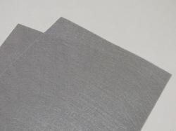 Фетр средней жесткости цв. серый