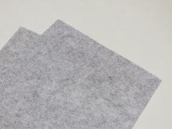 Фетр средней жесткости цв. светло-серый