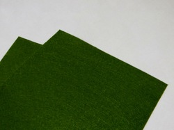 Фетр средней жесткости цв. темно-оливковый