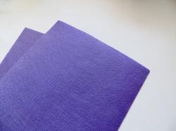 Фетр средней жесткости цв. светло-фиолетовый