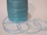 Лента из органзы цв. светло-голубой 10 мм.(5м.)