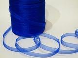 Лента из органзы цв. синий 10 мм.( 5м.)