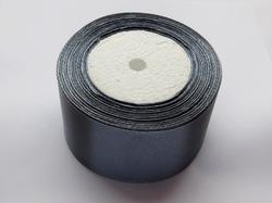 Атласная лента цв. серый 50 мм.(1 м.)
