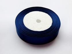 Атласная лента цв. темно-синий 20 мм.