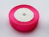 Атласная лента цв. ярко-розовый 20 мм.