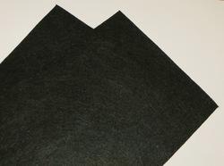 Фетр средней жесткости цв. черный